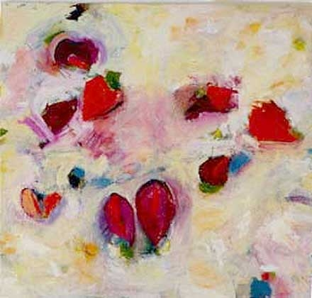 Ruby Fruited Jungle SOLD: Collection of Judith Cockman